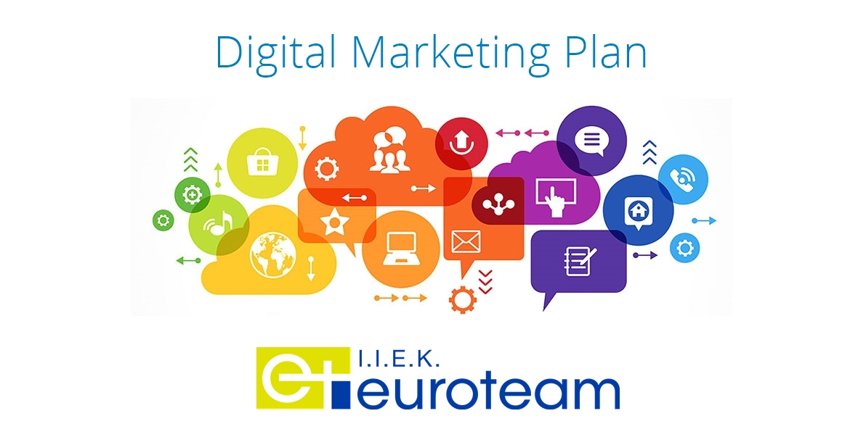 Digital Markeing Plan ΙΕΚ Euroteam