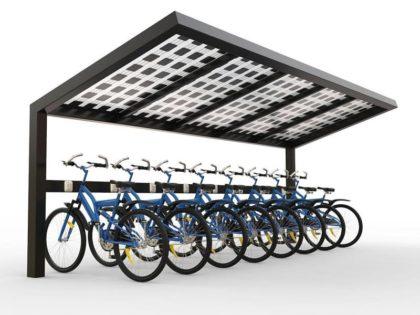 NEO ΠΡΟΪΟΝ:  Ηλιακό πάρκινγκ/φορτιστής ηλεκτρικών ποδηλάτων από την CORE SOLUTIONS