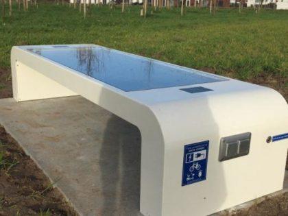 ΝΕΟ ΠΡΟΪΟΝ: Έξυπνο Ηλιακό Παγκάκι – Φορτιστής Ηλεκτρικών Αμαξιδίων / Ποδηλάτων / Πατινιών